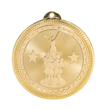 Competitive Cheer BriteLazer Medal