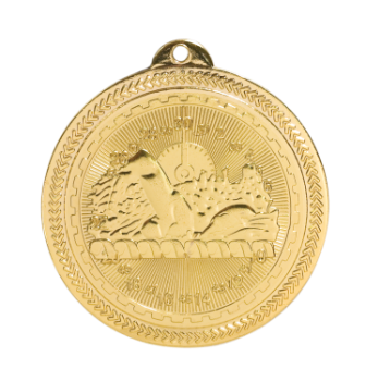Swimming BriteLazer Medal