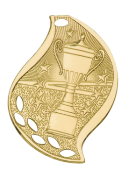 Victory Cup Flame Medal