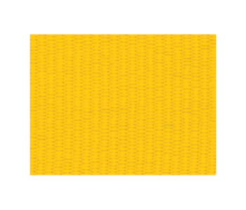 Solid Yellow Neck Ribbon with Snap Clip