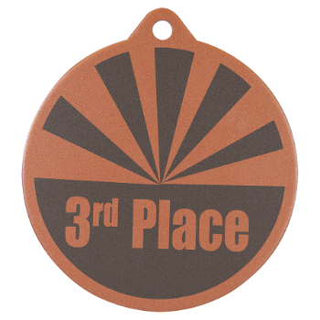 BRONZE LASERABLE MEDAL