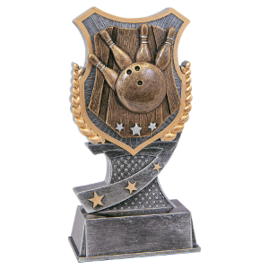 Bowling 6 Shield Award