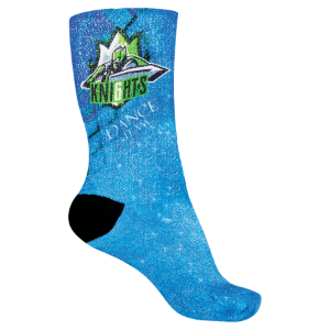 Adult Shimmer Crew Sock-One Size Fits Most