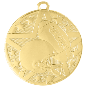 Football Superstar Medal