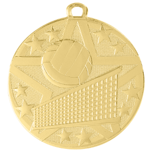 Volleyball Superstar Medal