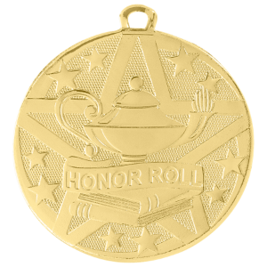 Honor Roll Superstar Medal