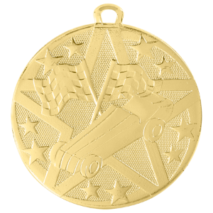 Pinewood Derby Superstar Medal